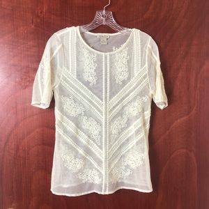 Lucky Brand Embroidery Shirt